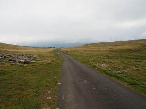 The road summit below Little Asby Scar