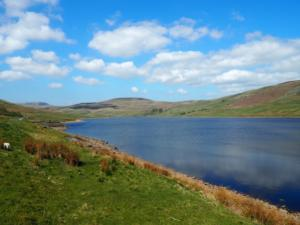 Scar House Reservoir and Little Whernside