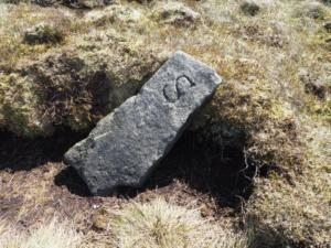 An old boundary stone