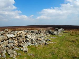 The ruined structure on Dead Man's Hill