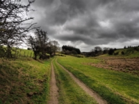 Following the path below Norberry Hill to Eavestone
