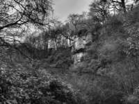 One of the high crags at the head of Eavestone Lake