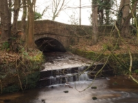Hungate Dike flowing into the River Skell