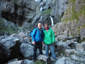 Mick and David by Gordale Falls