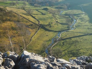 Malham Beck from Malham Cove