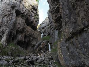 The waterfalls of Gordale Scar