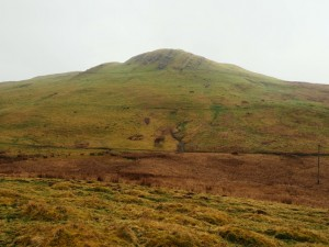 Looking up at Birkett Knott