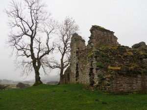 Another view of Pendragon Castle