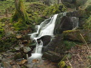 The small waterfall by Brookside