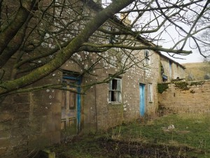 The abandoned houses at Holgate