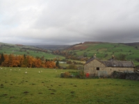 Upper Nidderdale from above High Blayshaw