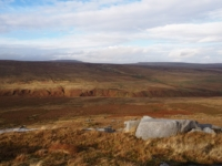 The Stean valley from Sandstones