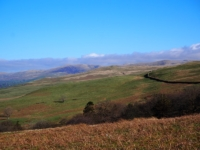 A glimpse of the Howgill Fells