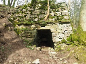 The kiln above Mill Gill Force