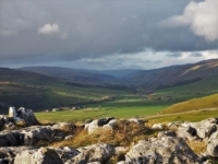Littondale from Bull Scar