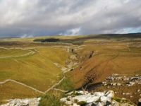 Conistone Dib from the top of Bull Scar