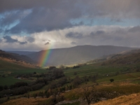 The fading rainbow in Wharfedale