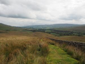 Wensleydale from below Cotter End