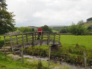 Footbridge over West Gill