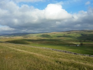 A view of Ribblesdale