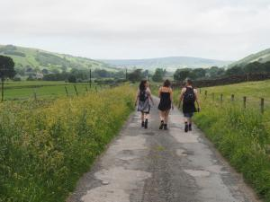 On the lane to Bouthwaite
