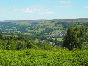 Looking back at Pateley Bridge