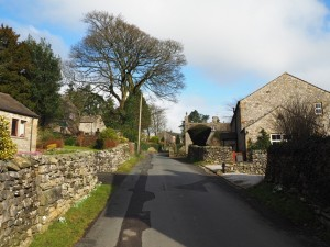 Leaving Austwick via Town Head Lane