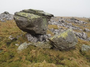 One of the famous Norber Erratics