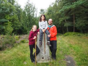 By the Caley Deer Park trig point