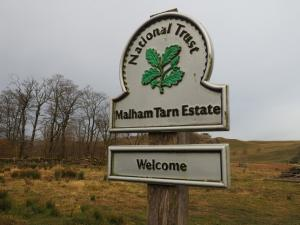 Much of the walk was within the National Trust's Malham Tarn Estate