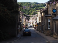 Looking back down Pateley Bridge High Street