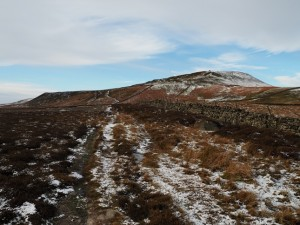 Approaching Penhill