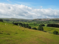 Looking back over Ribblesdale