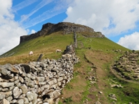 The final climb on to Pen-y-ghent