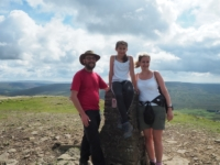 Group picture on the trig point