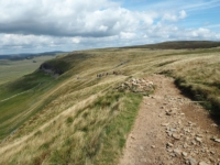 Our route of descent along the Pennine Way