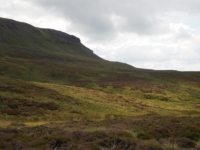Looking back up at Pen-y-ghent