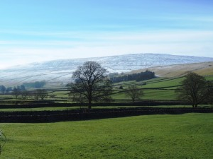 Looking across Littondale towards Darnbrook Fell