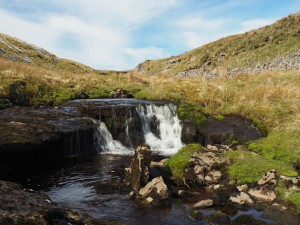 A small waterfall on Foxup Beck