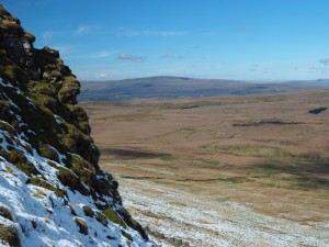 Whernside from the climb on to Plover Hill