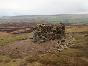 The cairn on Pen Hill End