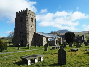 Horton Church backed by Penyghent