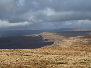 A dramatic view of Cosh Knott to the north of Penyghent