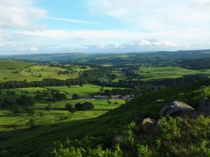 Wharfedale from South Nab