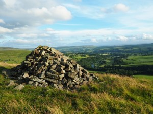 The large cairn on South Nab