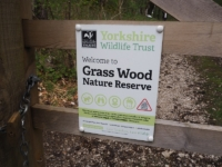 Entering the Grass Wood Nature Reserve