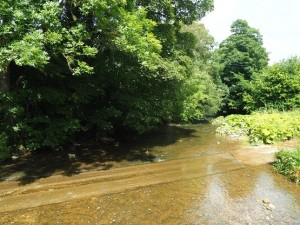 The ford below Rutter Force