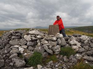 By the Stainforth trig point