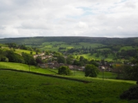 A pause to look down on Pateley Bridge