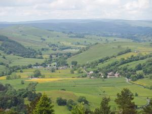 A view of Wharfedale and Appletreewick